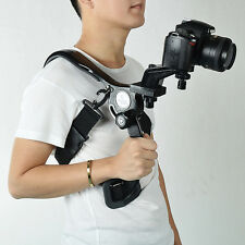 Hand Free Camcorder Video DSLR SLR Camera Shoulder Mount Stabilizer Support Pad