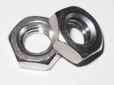 "1/4"" UNC Half Thin Lock Nut - Stainless (Qty 4)"
