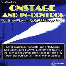 STAN MUNSLOW - ONSTAGE AND IN-CONTROL: TEN EASY WAYS TO CLOBBER STAGE - CD, 2006