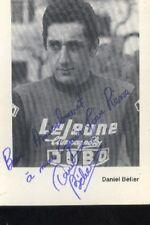 DANIEL BELIER cyclisme cycling dédicace JOBO Campagnolo LEJEUNE signée cycliste