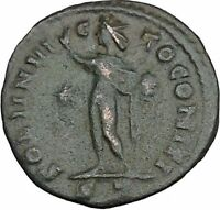 LICINIUS I Constantine I the Great enemy Ancient Roman Coin Sol Sun Cult  i37606