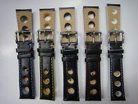 18mm 20mm 22mm Genuine leather band strap bracelet fits TISSOT PRS516 Racing