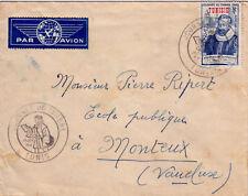 TUNISIE-JOURNEE DU TIMBRE 29 JUIN 1946-COTE 25€.