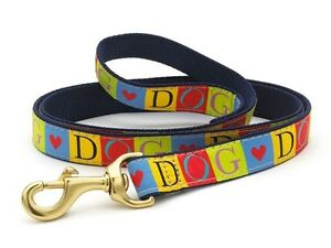 UP COUNTRY DESIGNER DOG LEASH/LEAD (Various Styles)