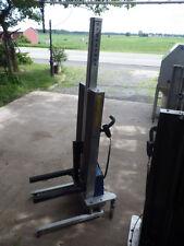 Light Aluminum 220lb Electric Lift Cart/Hand-Truck/Platform Lift  (ERGO-TRANZ)