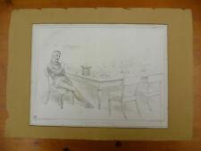 ORIGINAL, ANTIQUE 1834 'HB'  SATIRICAL LITHOGRAPHIC PRINT, HB LITHOGRAPH. No 355