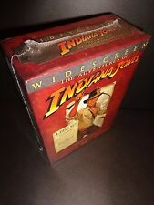 THE ADVENTURES OF INDIANA JONES-Complete WIDESCREEN 4 DVD Set-HARRISON FORD