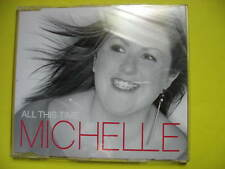 MICHELLE-ALL THIS TIME. 2 TRACK CD SINGLE. POP DISCO DANCE.