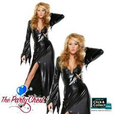 MISTRESS OF MIDNIGHT HALLOWEEN COSTUME Forplay Witch Fancy Dress Outfit 558405