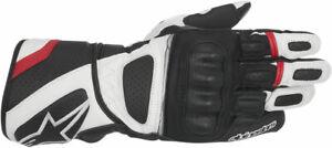 ALPINESTARS SP-Z Drystar Performance Riding Gloves (Black/White/Red) Small