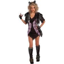 Womens Sexy Werewolf Fancy Dress Costume Twilight Movie She Wolf Horror Costume