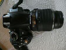 Nikon D D3100 14.2MP Digital SLR Camera w/ AF-S Nikkor DX VR 18-55mm Lens-Case
