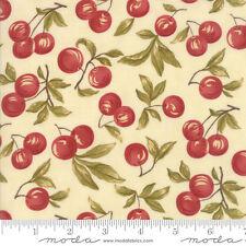 MODA Fabric ~ SWEET CHERRY WINE ~ by Blackbird Designs (2780 11) by 1/2 yard