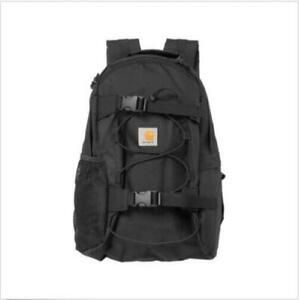 Carhartt WIP Rucksack Kickflip Backpack schwarz Alltags Rucksack Board Halterung