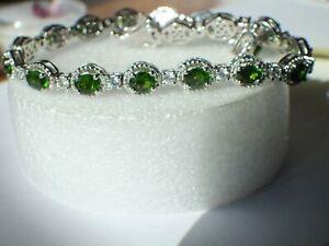 Russian Chrome Diopside Bracelet