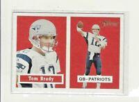2002 Topps Heritage Black Back #50 Tom Brady Patriots VARIATION MINT FROM PACK