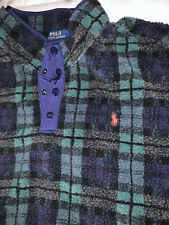 New POLO RALPH LAUREN LIMITED EDITION PULLOVER Men's Size 2xl Xxl Front Pockets