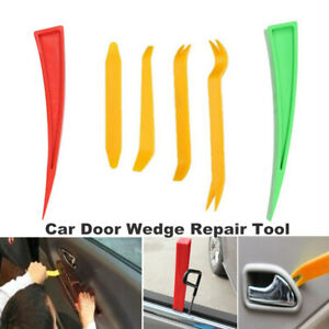6PCS Car Truck Door Window Enlarger Wedge Dent Repair Panel Paint Auxiliary Tool