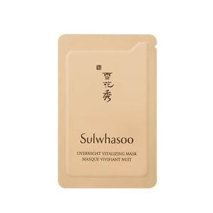 Sulwhasoo Overnight Vitalizing Mask EX 5ml x 10pcs (50ml) Sleeping mask New Ver