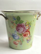 Mackenzie-Childs Green Flower Market Ice Bucket Sold Out in Stores & Retired