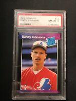 1989 Donruss Randy Johnson #42 PSA NM-MT 8