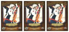 (3) 2009-10 Upper Deck Biography of a Season #BOS5 Alexander Ovechkin Lot