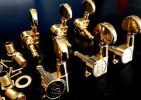 6 Mecaniques Bain Huile Wilkinson Gold avec gros bouton oval