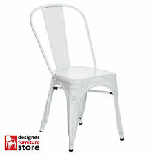 Replica Chantal Andriot Tolix A Chair – Perforated/Mesh - White