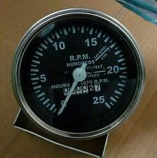 193955M91 Massey Ferguson Tachometer Gas & Diesel 65, MF 35 ,202, 204, 3165