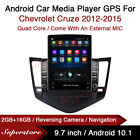 9.7  Android 10.1 Car Stereo non DVD USB GPS Head Unit For Chevrolet Cruze 12-15