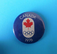 SUMMER OLYMPIC GAMES MONTREAL 1976. - CANADA NOC ... old rare olympics pin badge