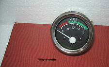 Volt Meter for Massey Ferguson Fitment Size 2Inch Dash Mounted with Bracket