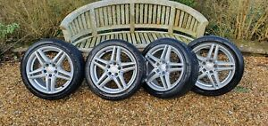 Mercedes C-Class Coupe (W204) Alloy Winter Wheels & Tyres (Borbet / Avon WV7)