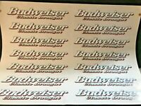 Budweiser Classic Draught Vinyl decal stickers