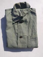 Korean War USMC P47 HBT 3 Pockets Shirt/Jacket Size 40S - Named