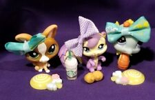 Littlest Pet Shop 1566 Seahorse 1567 Squirrel 1568 Dog AUTHENTHIC + ACCESSORIES