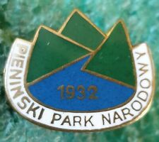 PIENINY NATIONAL PARK POLAND OLD PIN BADGE