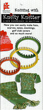 SALE! KNIIFTY KNITTER LOOM PATTERNS BOOKLET! HATS~DISHCLOTHS~MORE + HOW TO LOOM!