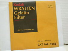 "KODAK WRATTEN No. 96, N.D. 0.60, neutral density filter.6""x6"". NEW."
