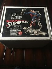 "Superman Man Vs Machine 12"" Statue Full Size"