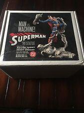 "Superman Man Vs Machine 12"" Statue FULL SIZE"