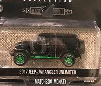 2020 Greenlight Green Machine 2017 Jeep Wrangler Unlimited Black Bandit Chase 86