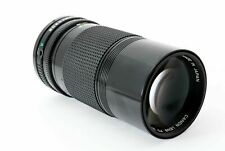 CANON FD 200mm f4 FD Mt AE-1 A-1 AV-1 T70 May Fit FUJI, NEX with the Adapter