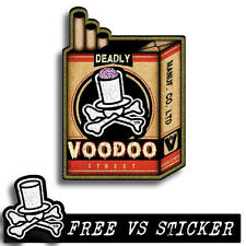 CULT ZOMBIE DECAL by VOODOO STREET™,  panel van, splitty, surf bus, ratlook,