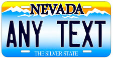 Personalized Custom Nevada State License Plate Any Name Novelty Auto Car Tag