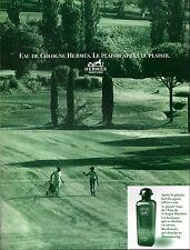 ▬► Parfum Perfume HERMÈS Homme Golf Original French Print ad Publicité 1989