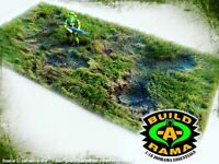 1:18 Diorama Battlefield Mat for GI Joe Cobra Dreadnok Action Figures G.I. Joe