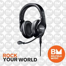 Shure BRH440M Broadcast Headphones Dual-Sided Headset w/ Dynamic Microphone
