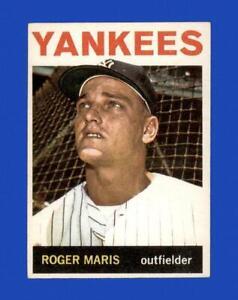1964 Topps Set Break #225 Roger Maris VG-VGEX *GMCARDS*