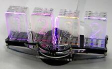 NixieCroN -M4 , 4-stelliger WS2812B LED-Nixie Uhr Bausatz mit RTC + Soundmodul